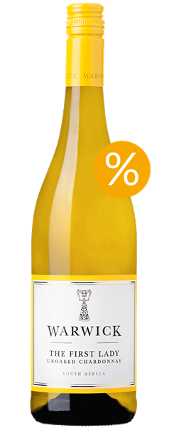 Warwick The First Lady Unoaked Chardonnay 2017