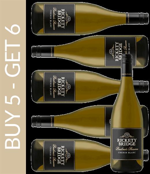Wein des Monats August Rickety Bridge Paulinas Reserve Chenin Blanc 2017 Buy 5 get 6