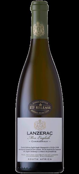 Lanzerac Mrs. English Chardonnay 2016