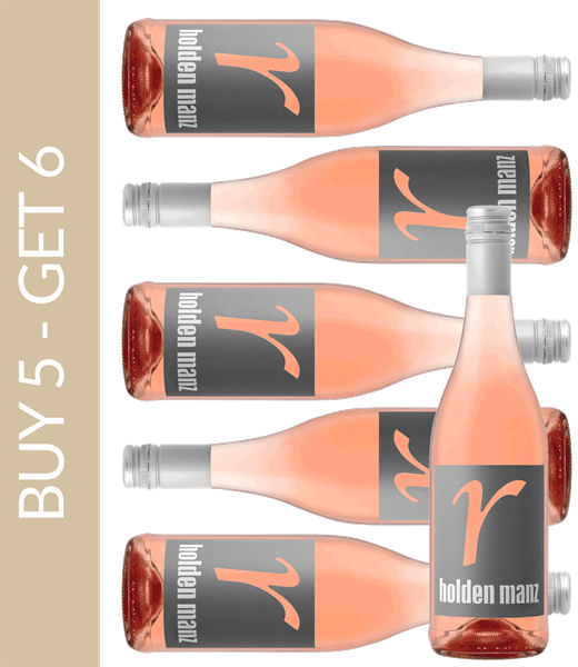 Wine of the Month July Holden Manz Rosé 2018 - Buy 5 get 6
