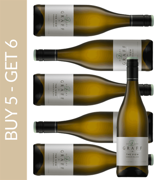 Wine of the month April Delaire Graff The View Chenin Blanc 2017 - Buy 5 get 6