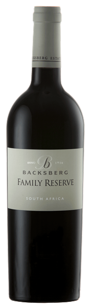 Backsberg Family Reserve Red 2015