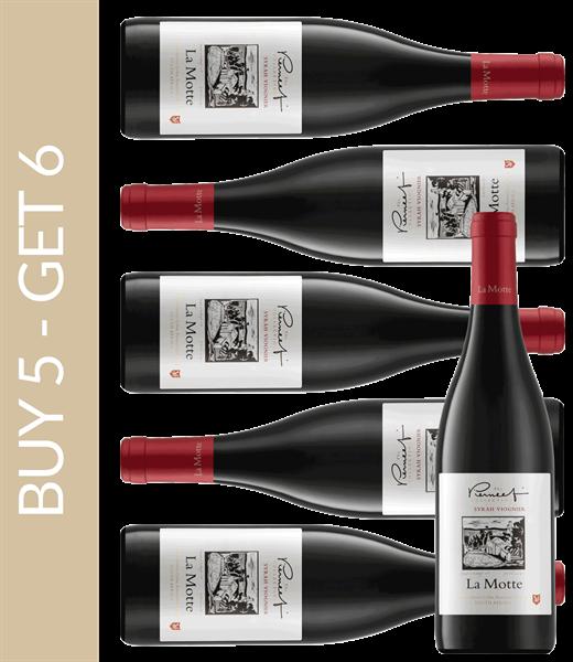 Wine of the Month December La Motte Pierneef Syrah-Viognier 2015 Buy 5 get 6
