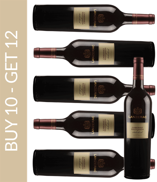 Wine of the Month October Lanzerac Cabernet Sauvignon 2015 Buy 10 get 12