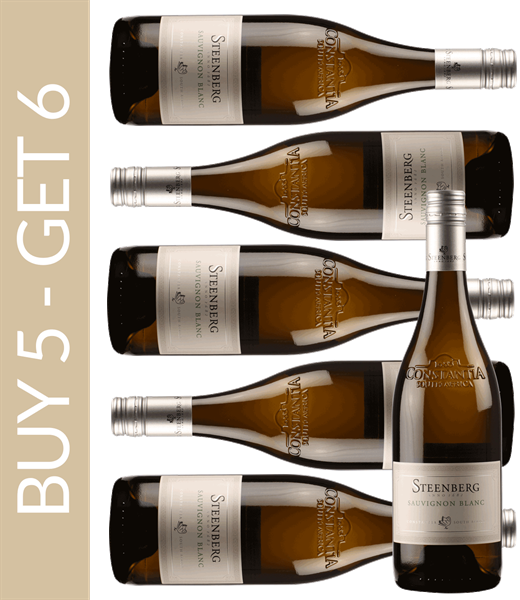 Wine of the Month July Steenberg Sauvignon Blanc 2017 Buy 5 get 6
