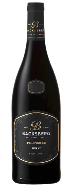 Backsberg Pumphouse Shiraz 2016